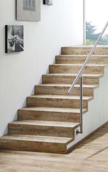 Treppenstufen passend zum Boden